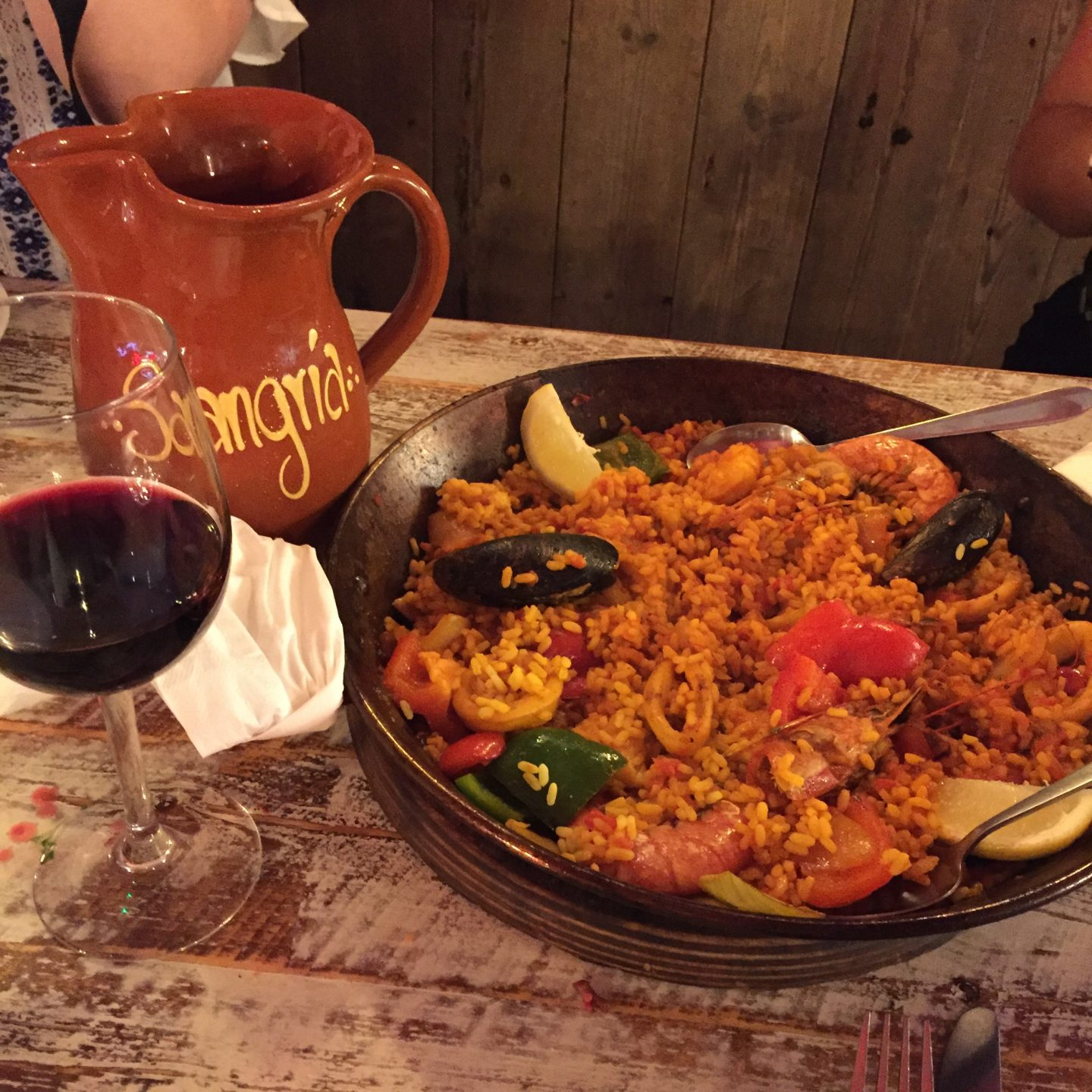 An Evening with La Tasca.