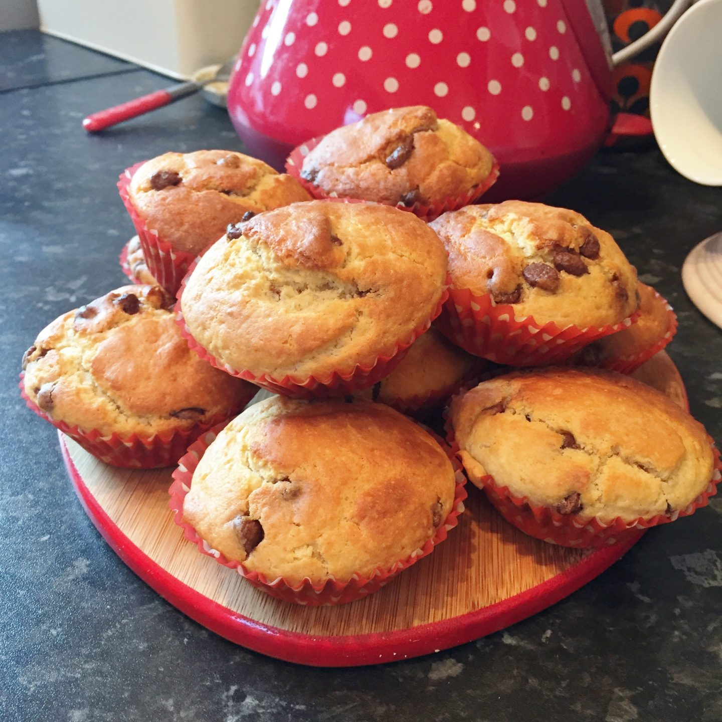 Love to Bake Part 1 – Choc Chip Muffins.