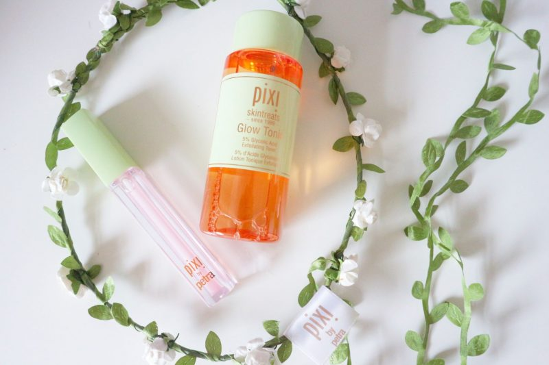 Glow Tonic and Lip Max from Pixi.