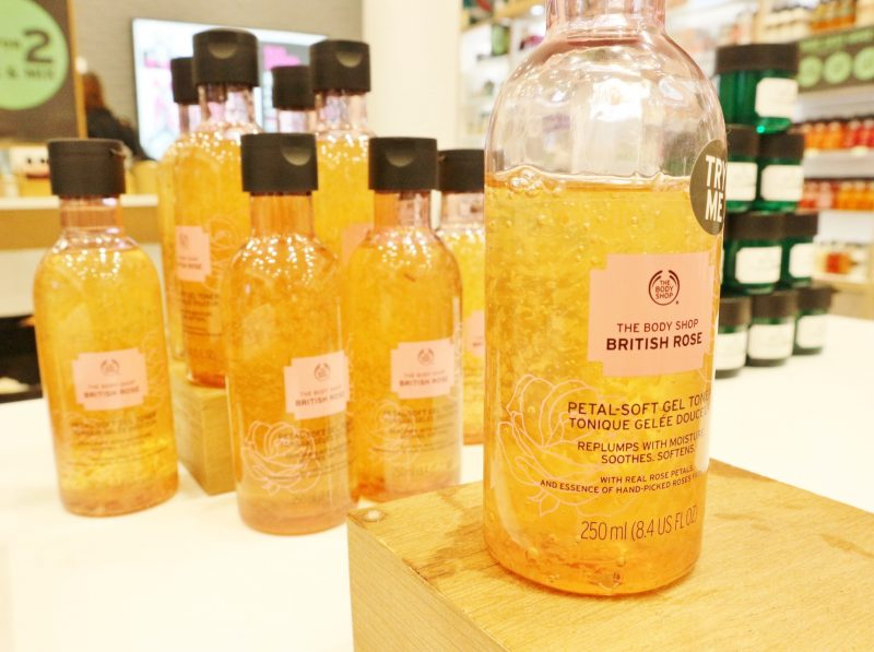 British Rose Toner, The Body Shop