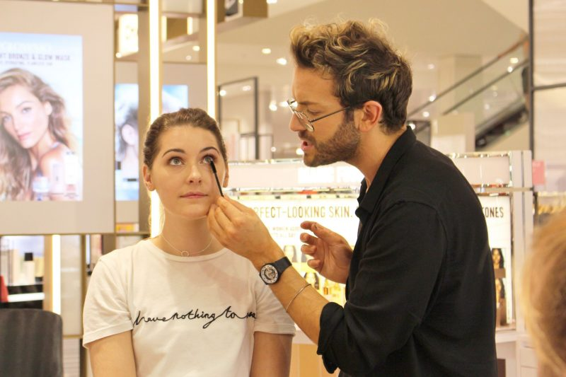 Finishing touches to the Healthy Glow Makeover