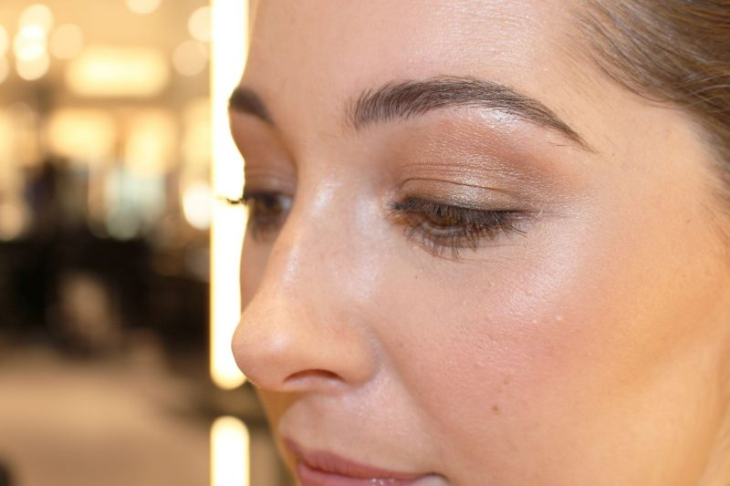 My GlowMo Look with Beauty Glow palette highlight