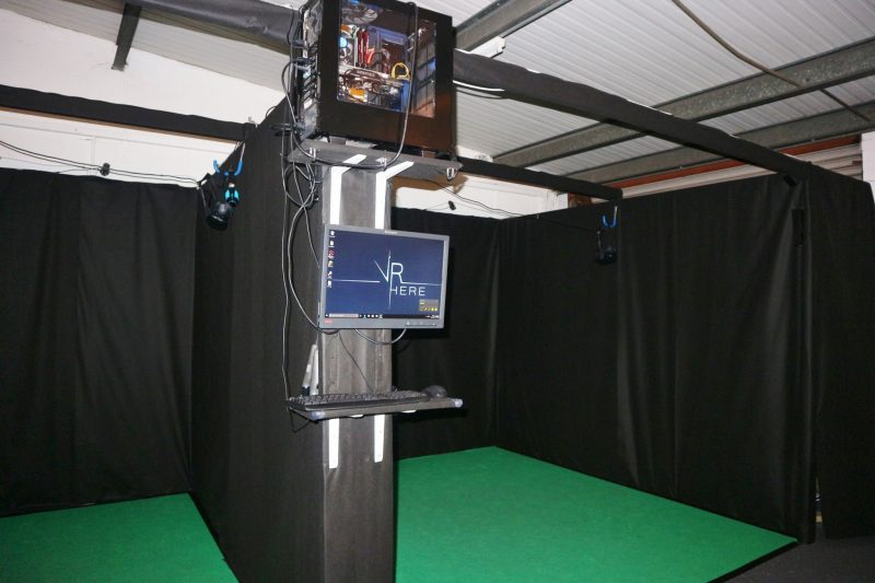 Virtual Reality Arcade Set Up