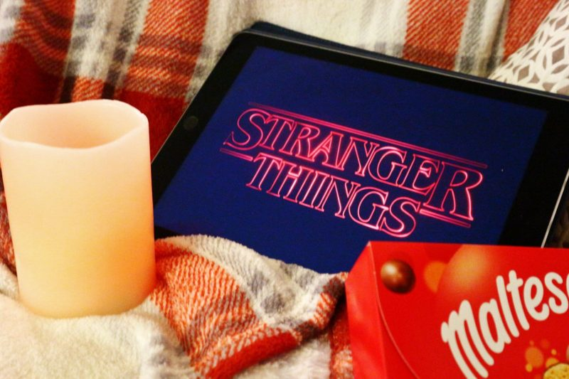 A night in with Stranger Things.