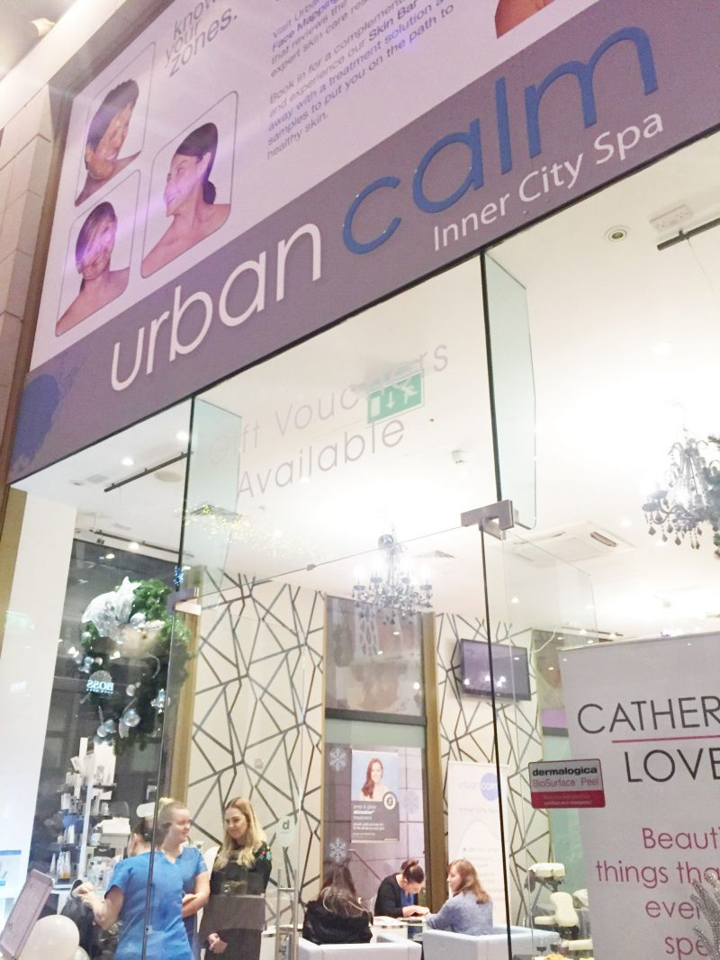 Urban Calm, Metquarter. Liverpool Salon. Liverpool Blogger. Beauty Blogger.
