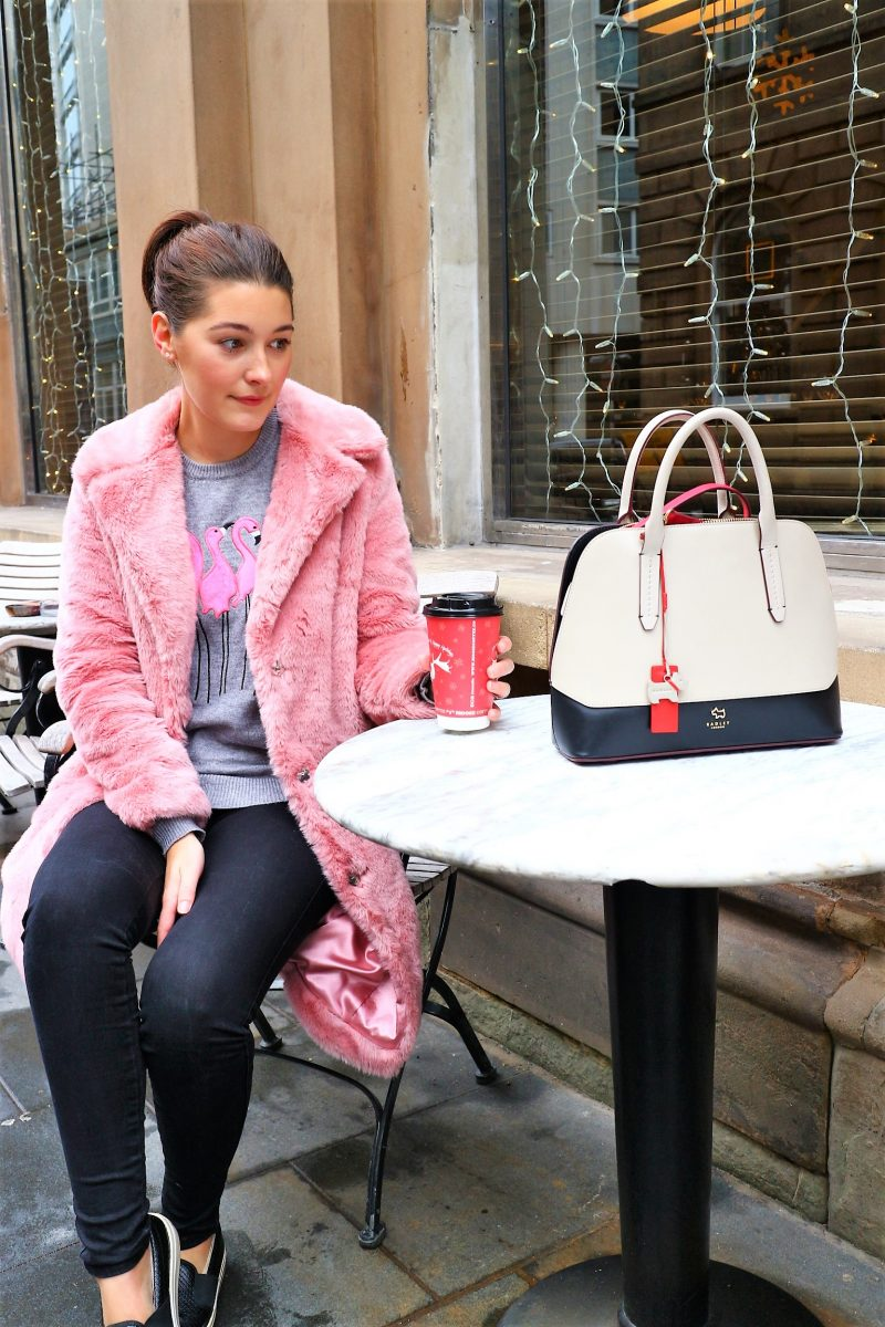 Very Coat. Faux Fur. Pink Coat. Winter Coat. Lifestyle Blogger UK