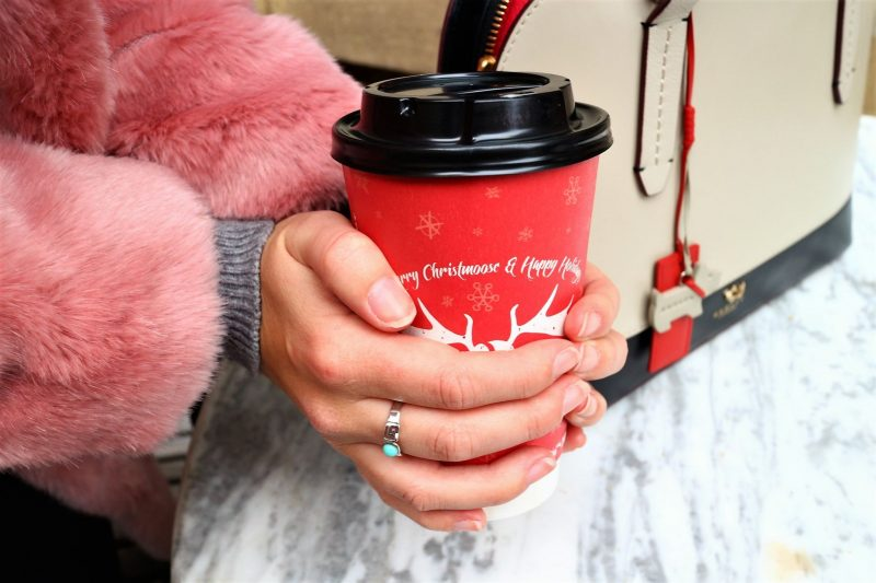 Moose Coffee. Christmas Time. Very Coat. Winter Coat. Lifestyle Blogger