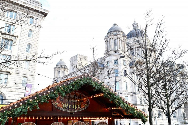 Liverpool Christmas. Christmas Market Liverpool. Cunard Building. Liverpool Blogger