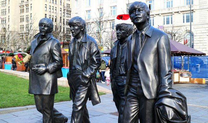The Beatles Statue Liverpool. Liverpool Blogger,