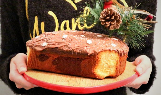 Marble Cake. Chocolate Orange Cake. Christmas Baking.