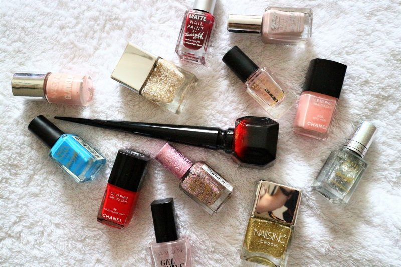 Nail Varnish Ideas. Nail Varnish Collection. UK Blogger. Beauty Blogger.