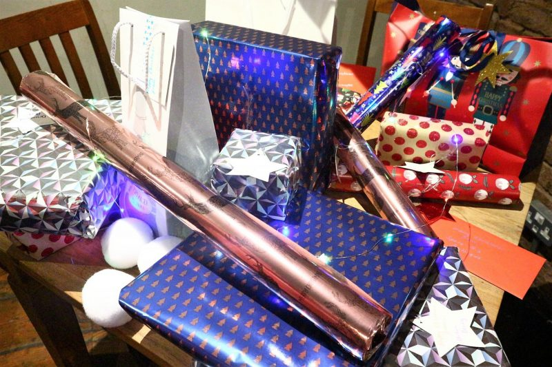 Raffle Prizes. NYX Make Up. Urban Decay Make Up. Liverpool Bloggers. CarnLival. Christmas Wrapping.