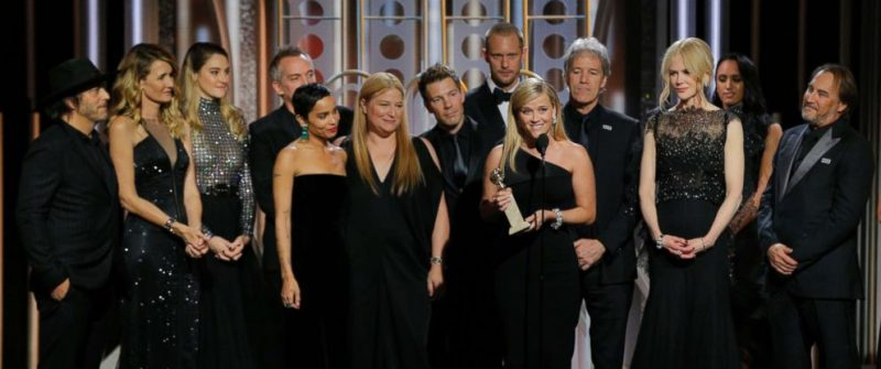 Big Little Lies. Golden Globe Winners. Times Up. Film Blog. UK Blogger.