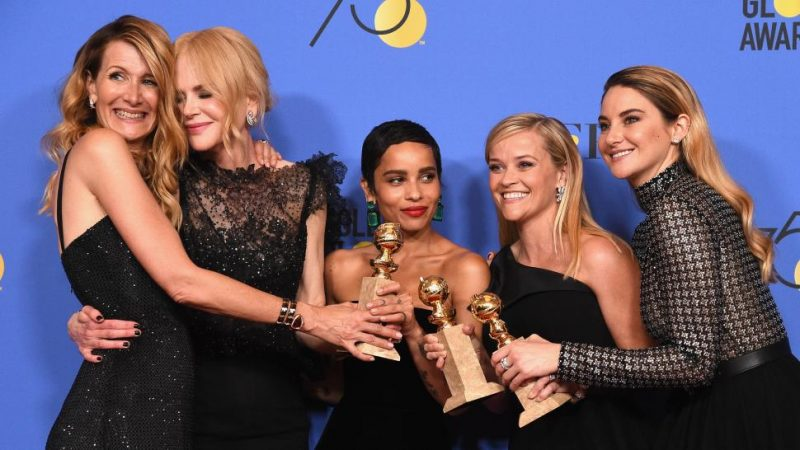 Big Little Lies. Golden Globes. Golden Globe Winners. Film Blogger UK.