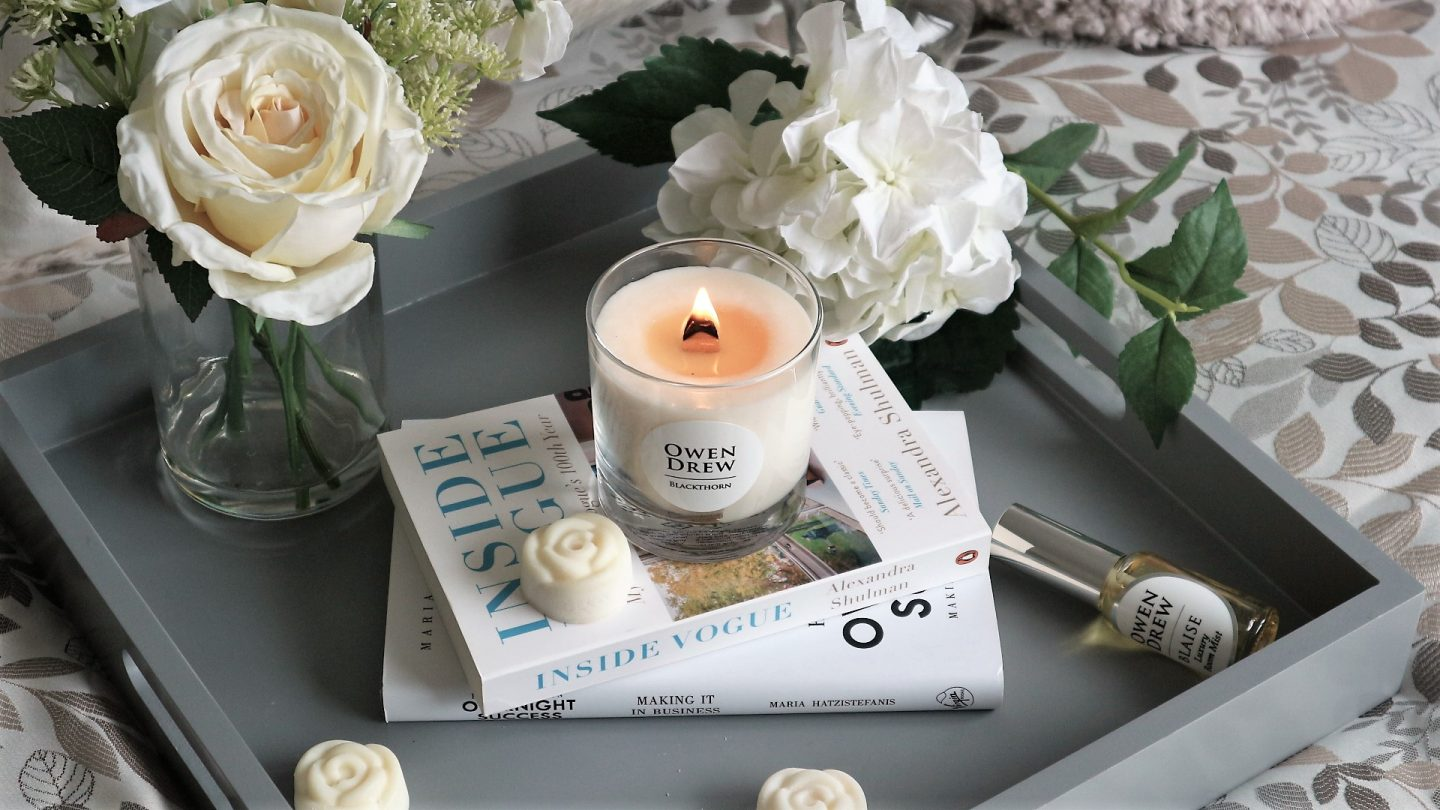 Owen Drew Candles. Owen Drew. Owen Drew Luxury Candles. Lifestyle Blogger. Autumn Inspiration.