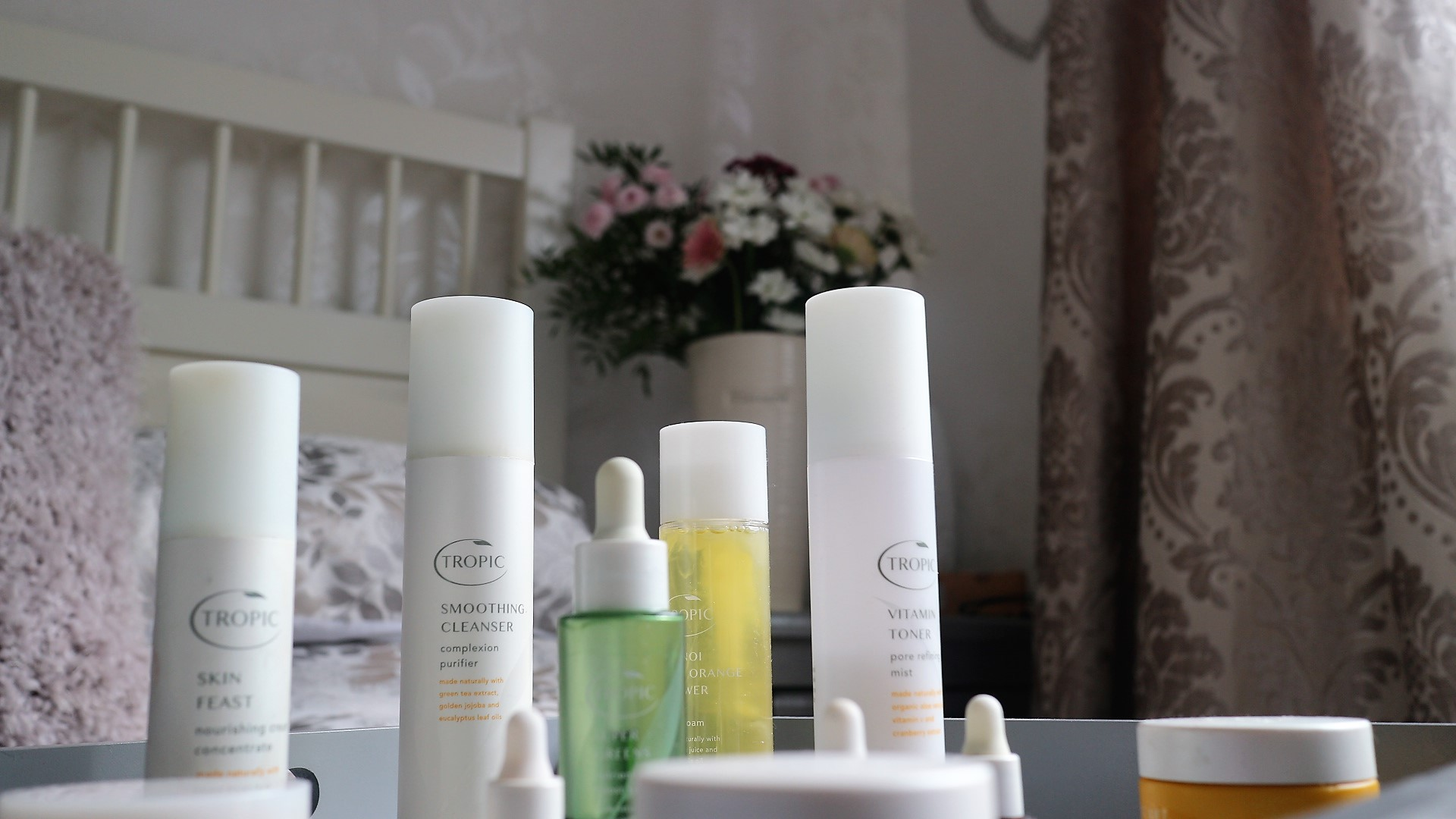 Tropic Skincare Products.
